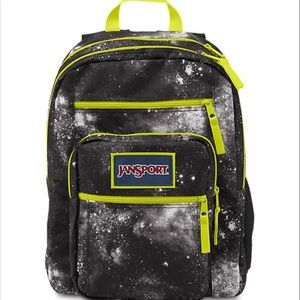 JANSPORT BLACK GALAXY OVEREXPOSED BACKPACK